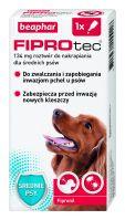 FIPROTEC M 134MG - 1 pipeta kropli przeciwko ektopasożytom dla średnich psów
