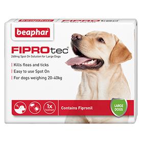 Vet Strength Flea & Tick treatment from Beaphar