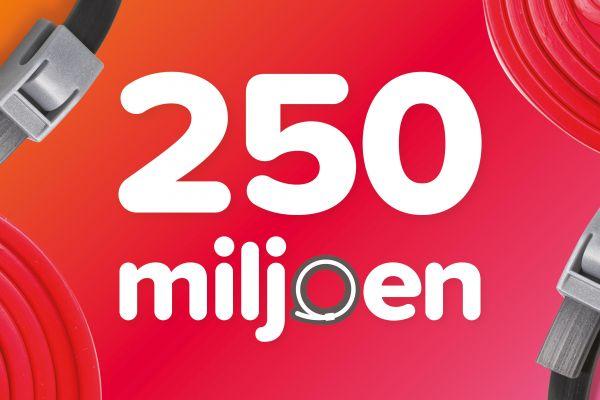 Beaphar produceert haar 250 miljoenste vlooienband!