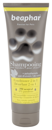 Premium Shampoo 2-In-1 for Long Hair - 250ml - Dutch/French