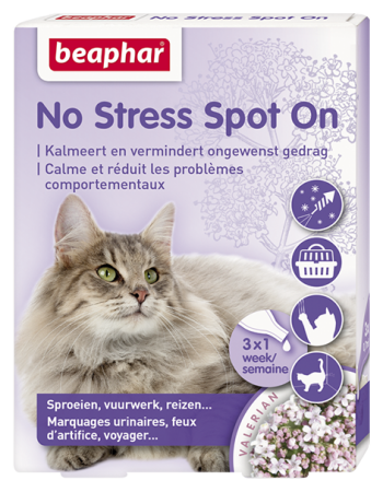 Calming Spot on for Cats - Dutch/French