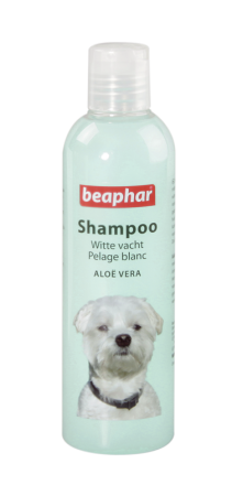 Shampoo White Coat Aloë Vera - 250ml - Dutch/French