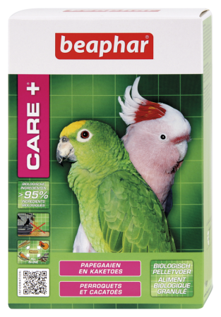 CARE+ Parrots and Cockatoos - 1kg - Dutch/French/English/German/Spanish