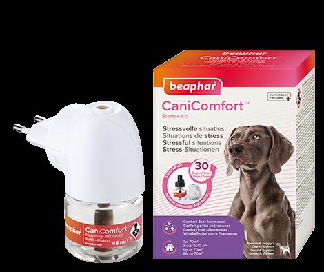 Nieuw: CaniComfort, kalmeert honden bij stressvolle situaties