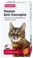 Vlooien Anti-Conceptie kat tot 4,5kg 3 ampullen