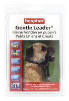 Gentle Leader zwart kleine hond/puppy