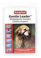 Gentle Leader zwart middelgrote hond