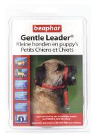 Gentle Leader rood kleine hond/puppy