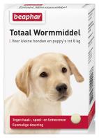 Wormmiddel Totaal kleine hond & puppy's 6st