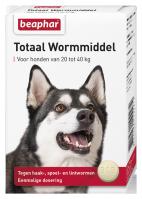 Wormmiddel Totaal hond groot 4st