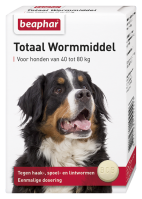 Wormmiddel Totaal hond extra groot 8st