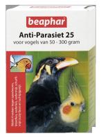Anti-Parasiet 25 voor vogels van 50-300 gram