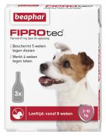 Fiprotec Spot-On Hond 2-10kg 3 pipetten
