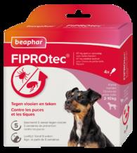 Fiprotec Spot-On Hond 2-10kg 3+1 pipetten