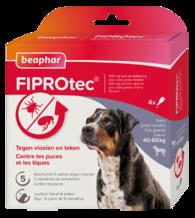 Fiprotec Spot-On hond 40-60kg 3+1 pipetten
