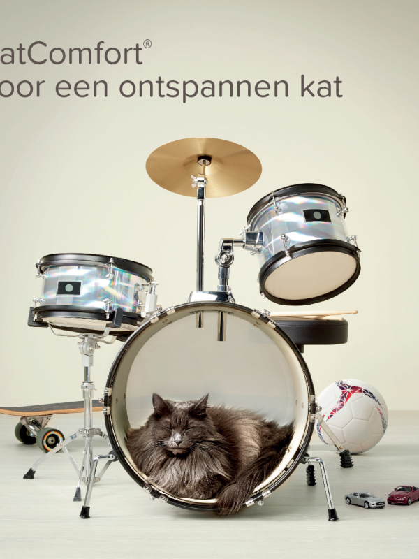 Nieuw: CatComfort®, feromonen voor een ontspannen kat
