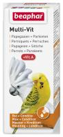 Multi-Vit papegaaien + grote parkieten 50ml