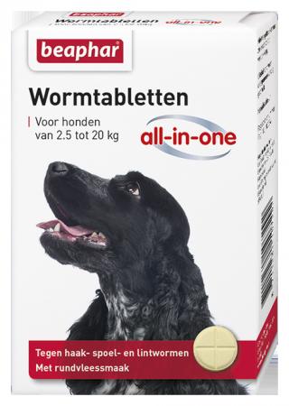 All-In-One Wormer Small & Medium Dog - Dutch