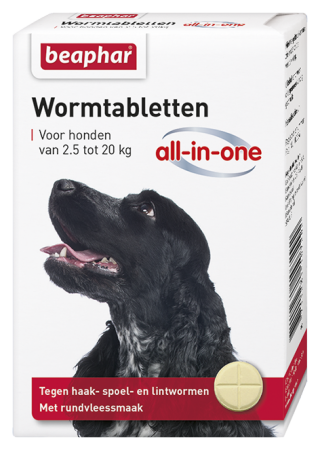 All-In-One Wormer Small & Medium Dog - Dutch