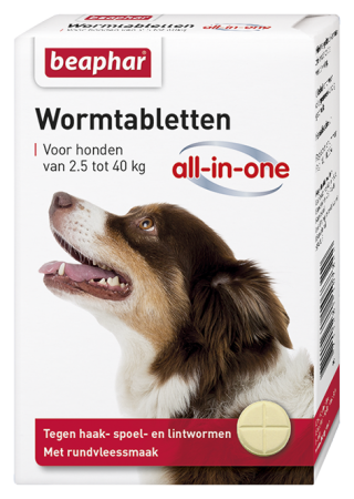 All-In-One Wormer Large Dogs - Dutch