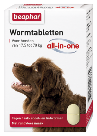 All-In-One Wormer Extra Large Dogs - Dutch