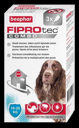 Beaphar FIPROtec COMBO hond 10-20kg