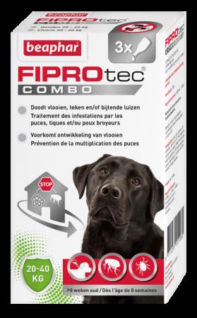 Beaphar FIPROtec COMBO hond 20-40kg