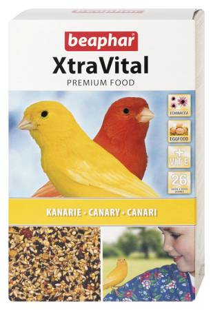 XtraVital Canary Feed - 500g - Dutch/French/English/Greek/Norwegian