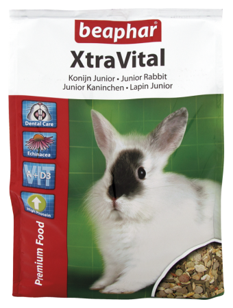 XtraVital Guinea Pig Feed - 2.5kg - Dutch/French/English/German/Spanish/Portuguese/Italian/Greek