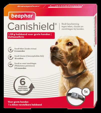 Beaphar Canishield halsband hond groot