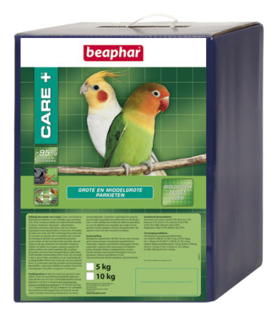 CARE+ Medium- and Large-Sized Parakeets - 5kg - Dutch