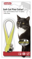 Beaphar Soft Cat Flea Collar - Reflective Yellow