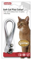 Beaphar Soft Cat Flea Collar Glitter - Assorted Colours