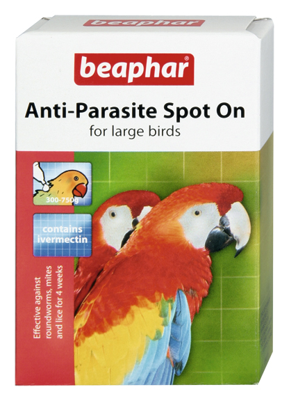 Beaphar Anti-Parasite Spot On – for small birds (Canary/Budgie)