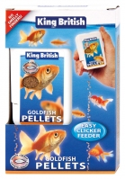 King British Goldfish Pellet Easy Clicker Feeder