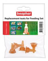 Beaphar Replacement Teats for Feeding Set