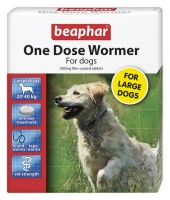 Beaphar One Dose Wormer Large Dogs