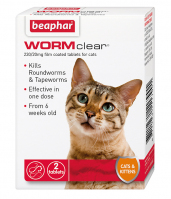 WORMclear Tablets for Cats