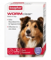 Beaphar WORMclear for Large Dogs