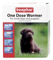 Beaphar One Dose Wormer for Puppies