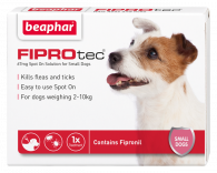 Beaphar FIPROtec® Spot on Solution for Small Dogs