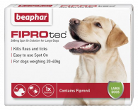 Beaphar FIPROtec® Spot on Solution for Large Dogs