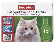 Beaphar Cat Spot On - Repels Fleas