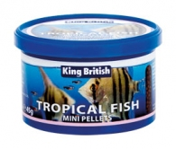 King British Tropical Fish Mini Pellets