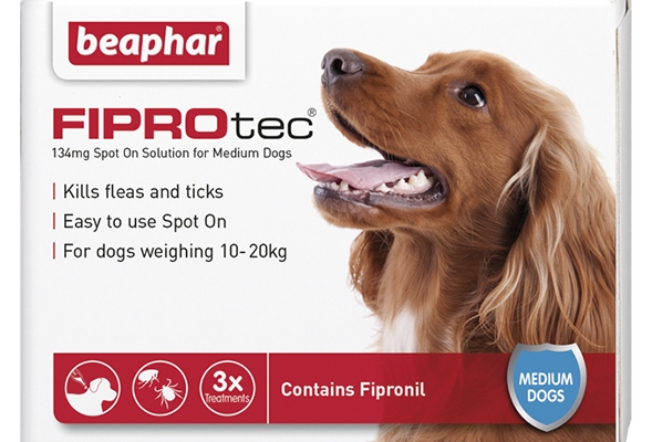 Vet Strength Flea & Tick treatment from Beaphar