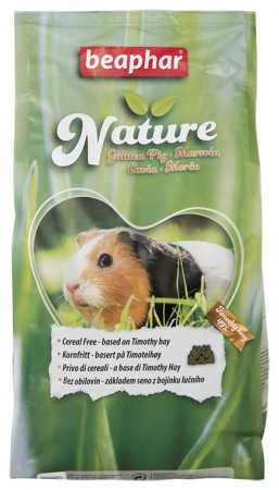 Beaphar Nature Guinea Pig - 1.25kg - English/Norwegian/Czech/Italian