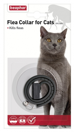 Beaphar Cat Plastic Flea Collar - Mixed