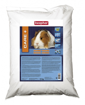 CARE+ Extruded Guinea Pig Food - 10kg - Dutch/French/English/German/Spanish/Italian/Greek/Norwegian