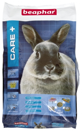 CARE+ Extruded Rabbit Food - 10kg - Dutch/French/English/German/Spanish/Italian/norwegian/Czech