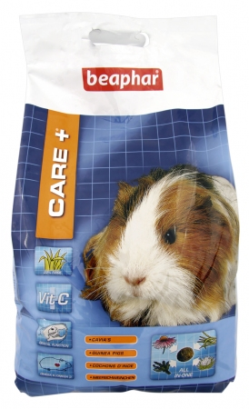 CARE+ Extruded Guinea Pig Food - 5kg - Dutch/French/English/German/Spanish/Greek/Norwegian/Czech